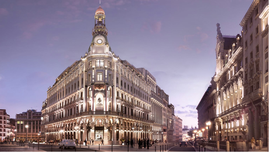 Ser de los primeros en ver el nuevo hotel de lujo